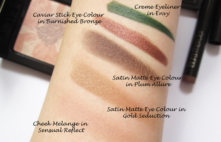 A picture of Laura Mercier Sensual Reflections Collection Autumn/Fall 2014 - Review & Swatches