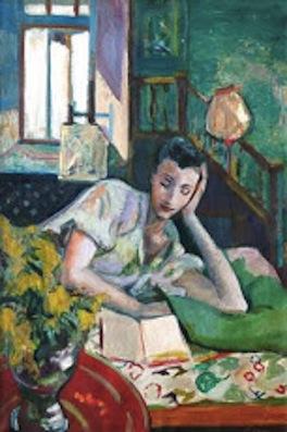 Frederick B. Serger. Reading Lady, 1946