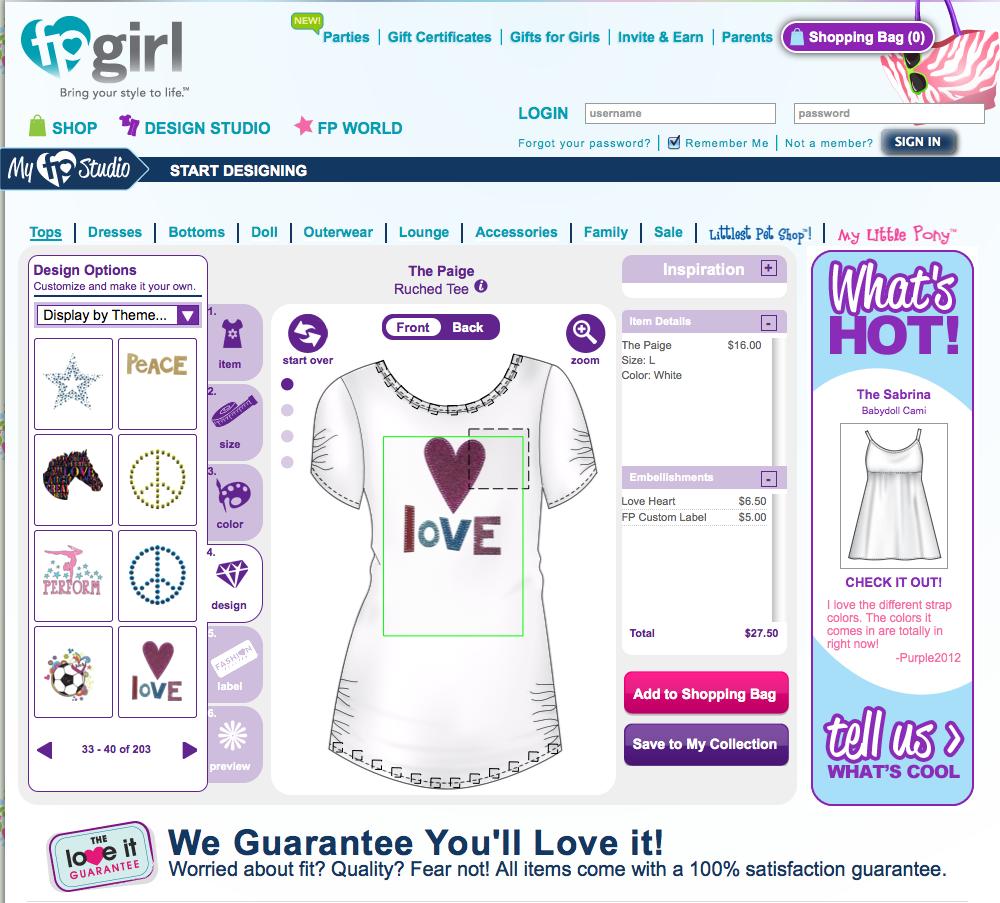Fpgirls Com Design Your Clothes