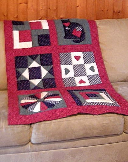 traditional quilt decorating with quilts