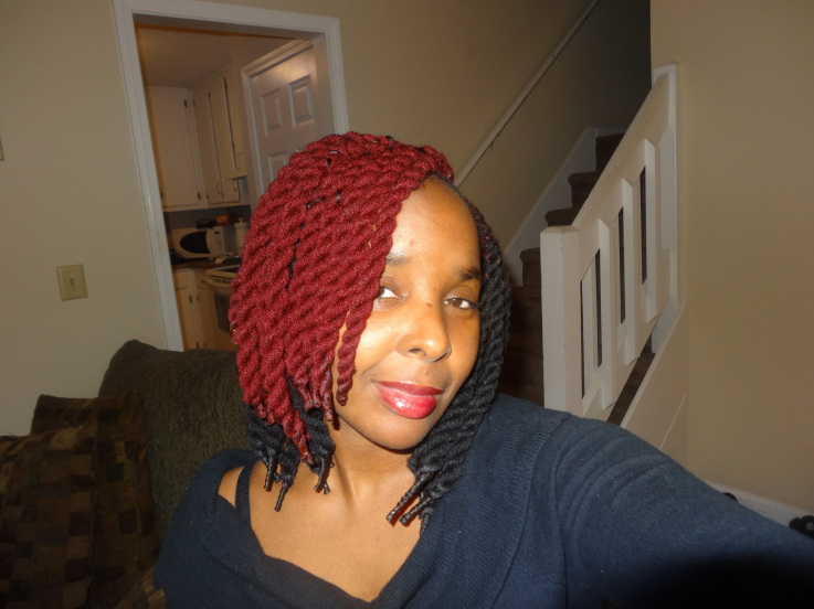 hair twist with yarn X Factor and Im A Celebrity…