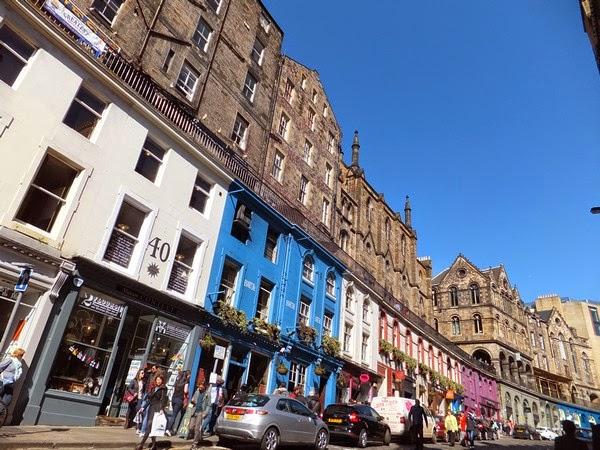 édimbourg edinburgh scotland écosse old town victoria street