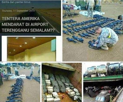 Kejutan Kisah Sebenar Pendaratan Tentera dan Peralatan Perang Amerika di Kuala Terengganu
