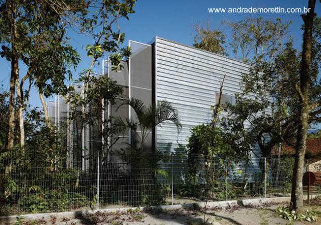 Residencia de arquitectura Tropical prefabricada en Brasil
