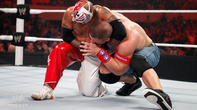 WWE WALLPAPERS: rey mysterio vs john cena | john cena vs ...