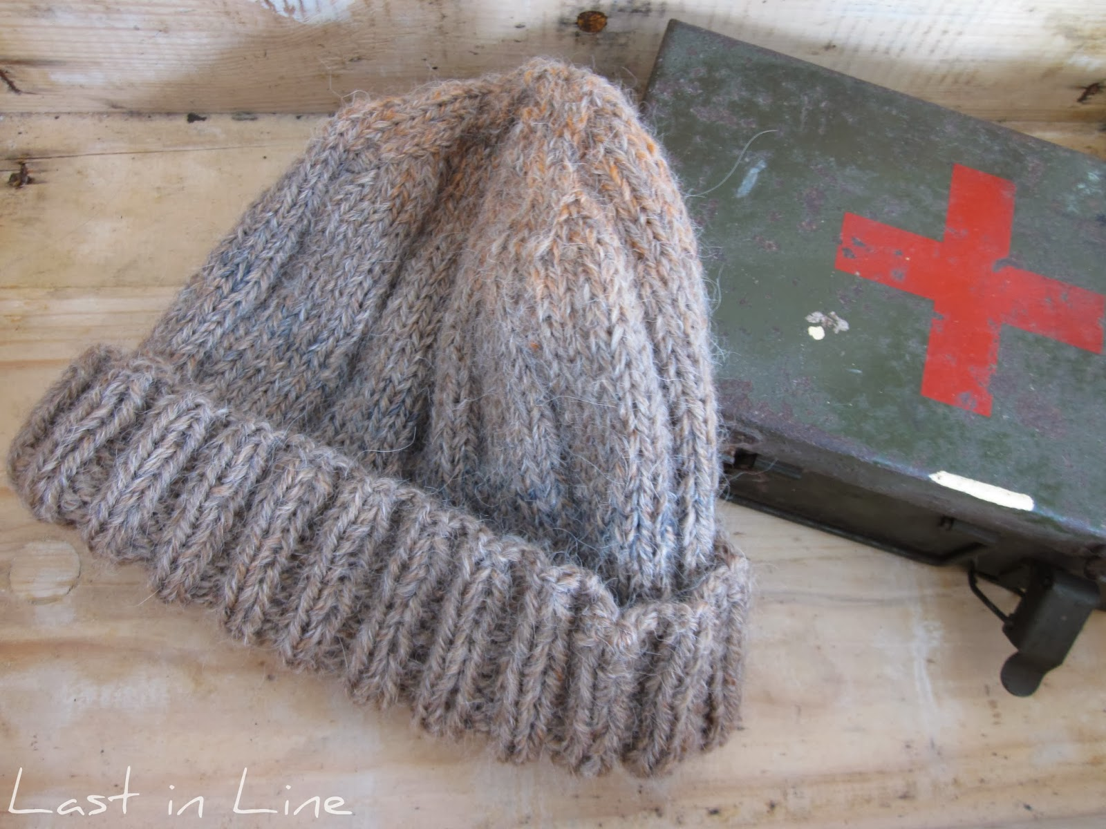 Forever Last In Line: WWII Watch Cap: Free Pattern and Reflections ...