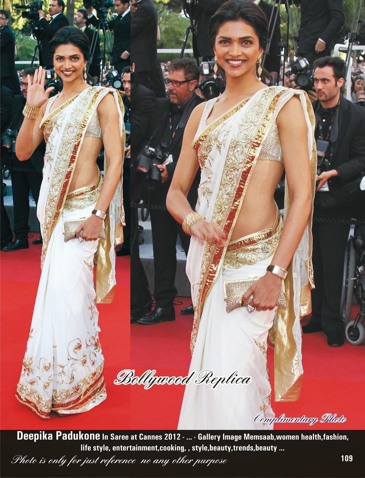 Keep it Stylish!!: Deepika Padukone Sarees and Dresses