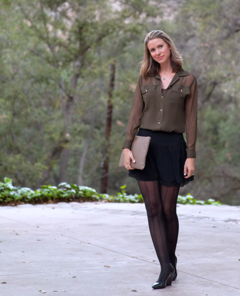fabulous dressed blogger woman: shannon from california