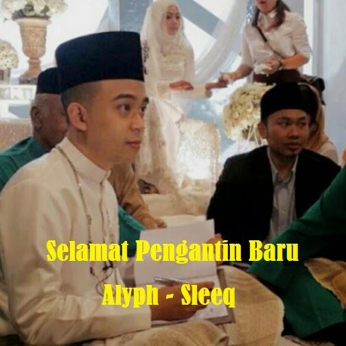 5 Gambar Majlis perkahwinan Alyph anggota kumpulan Sleeq