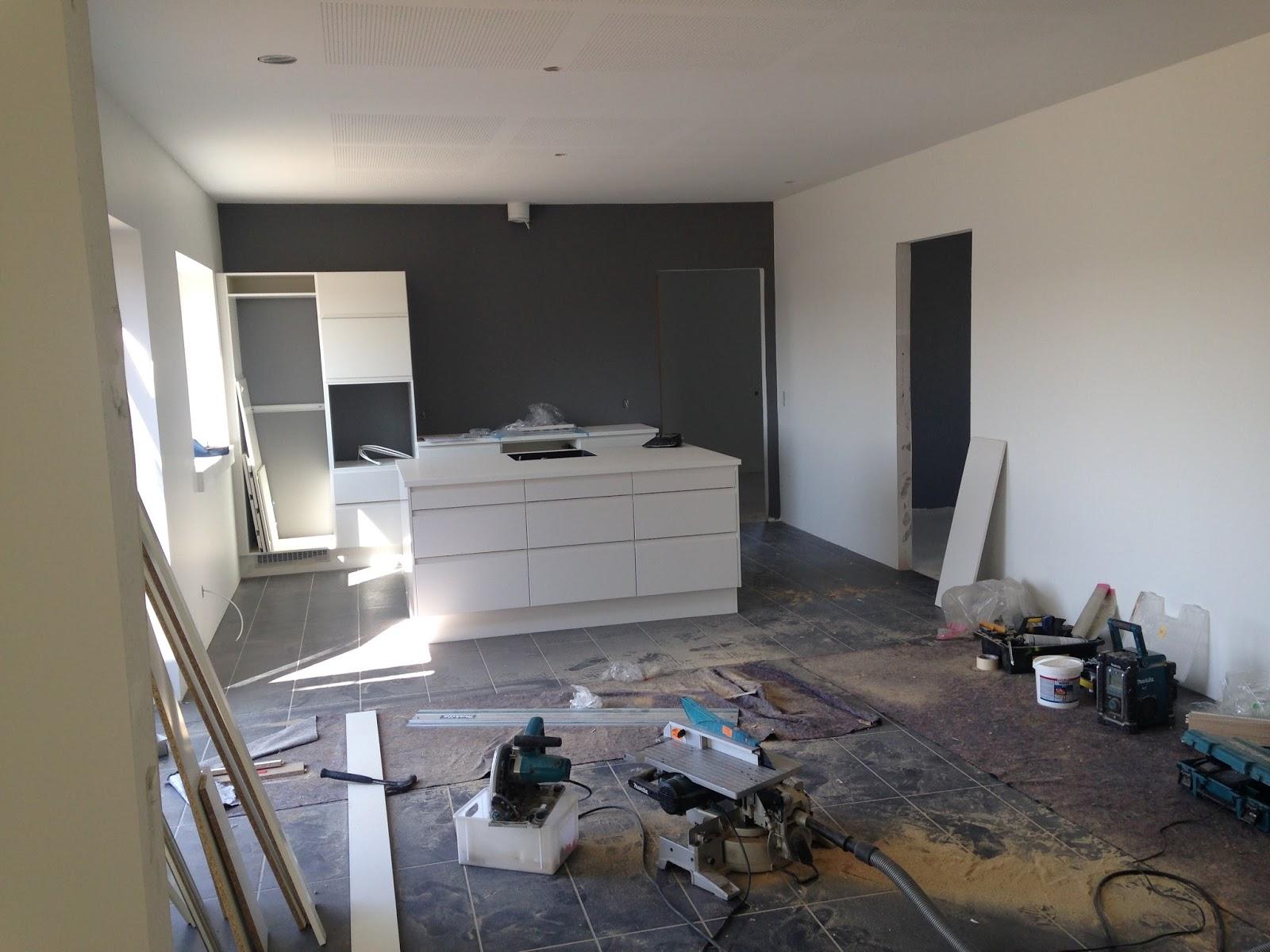 Vi bygger hus: byggeuge 14   inventar i køkken, bad og bryggers ...
