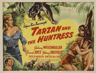 Tarzán y la cazadora | 1947 | Tarzan and the Huntress | Caratula