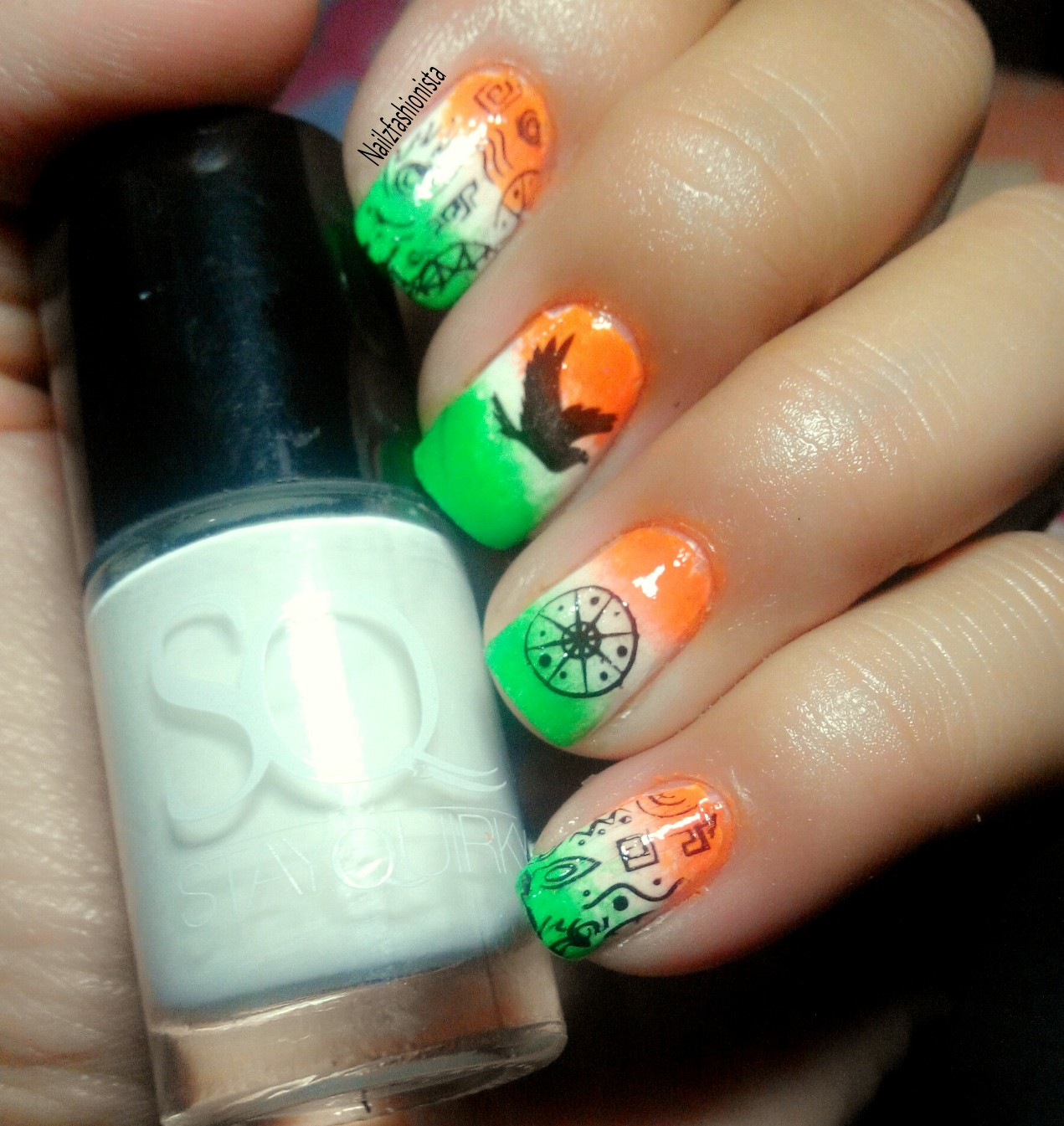 So Without Further Delay Let S Have A Look At Independence Day Nail Art Design D
