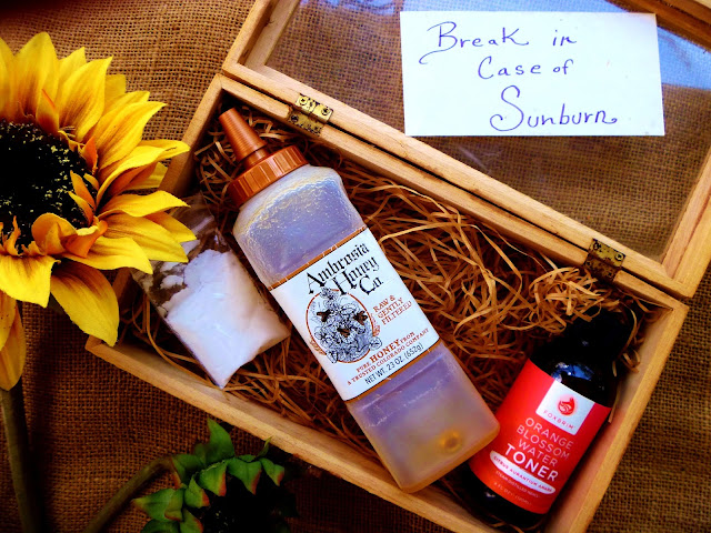 DIY Sunburn Remedy Kit Recipe on Gift Style Blog Gave That