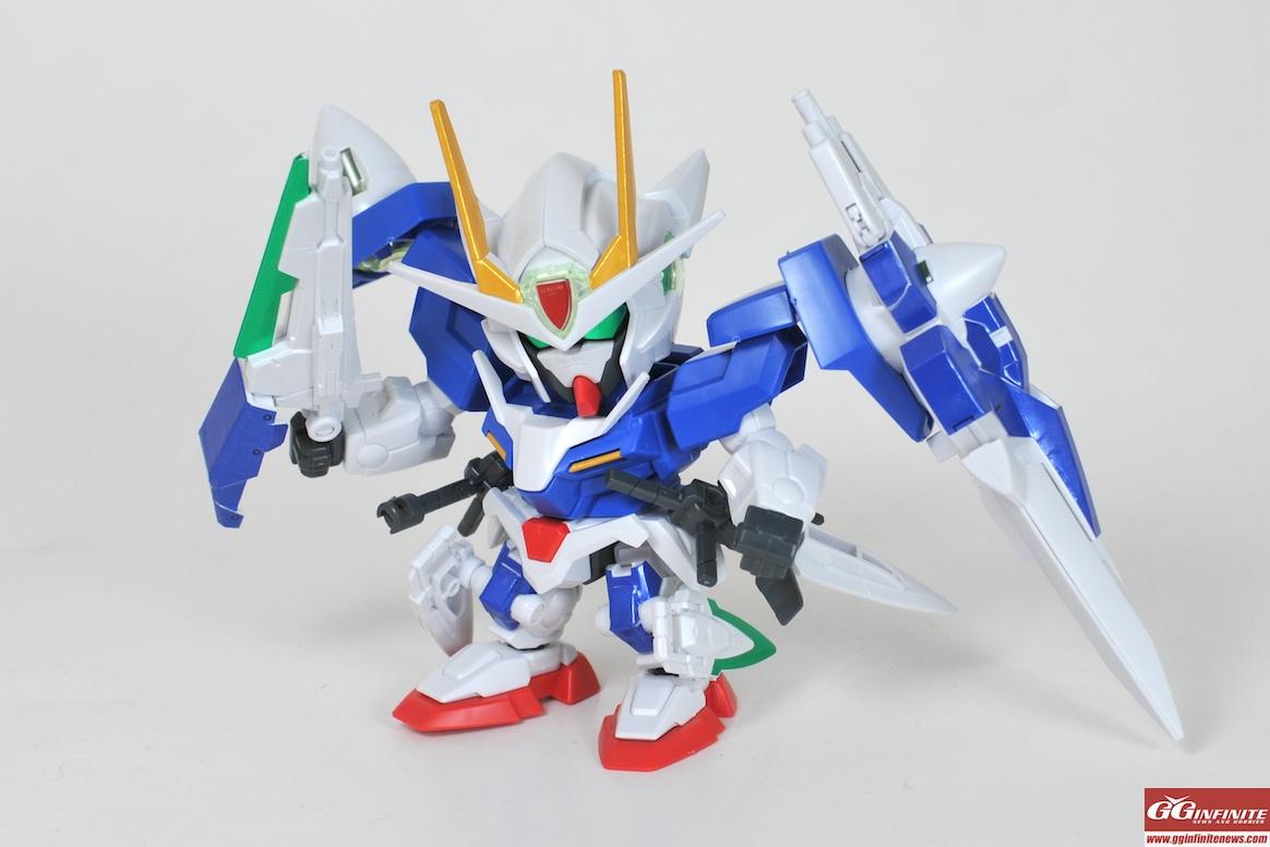Gundam Guy Sd Bb Senshi 00 Gundam Seven Sword G Review By Team Gg