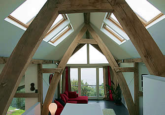 Modern timber frame architecture you inspire me for Oak framed house designs