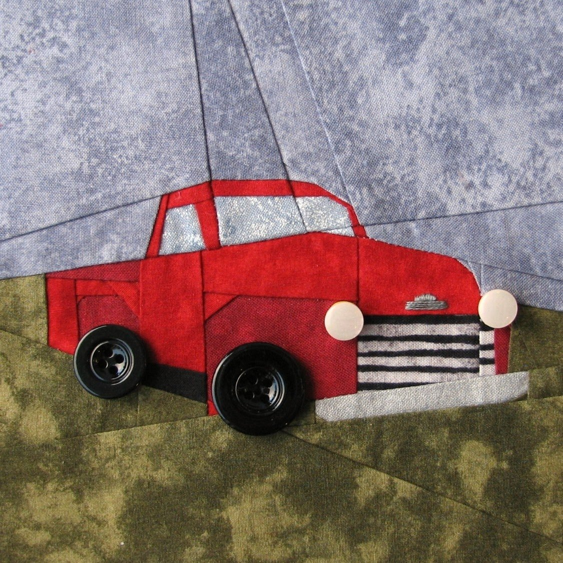 Such a Sew and Sew: My Twilight Quilt: Bella's Truck