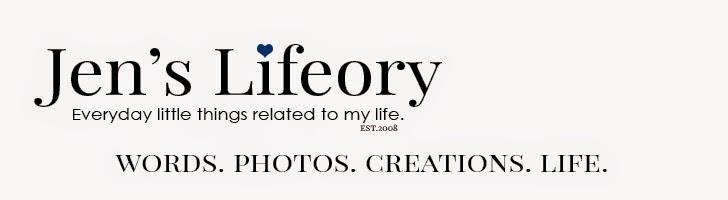 Jen's Lifeory