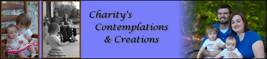 Charity's Contemplations and Creations