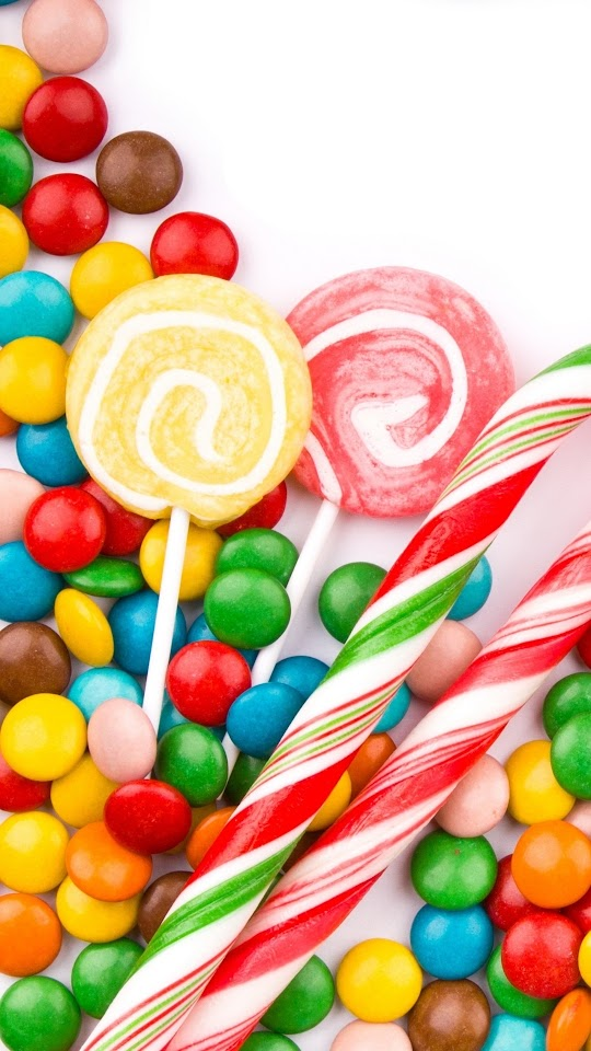 Sweet Colorful Candy Galaxy Note HD Wallpaper