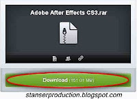 Cara Instal Adobe After Effect CS3 Portable - Stanser Production