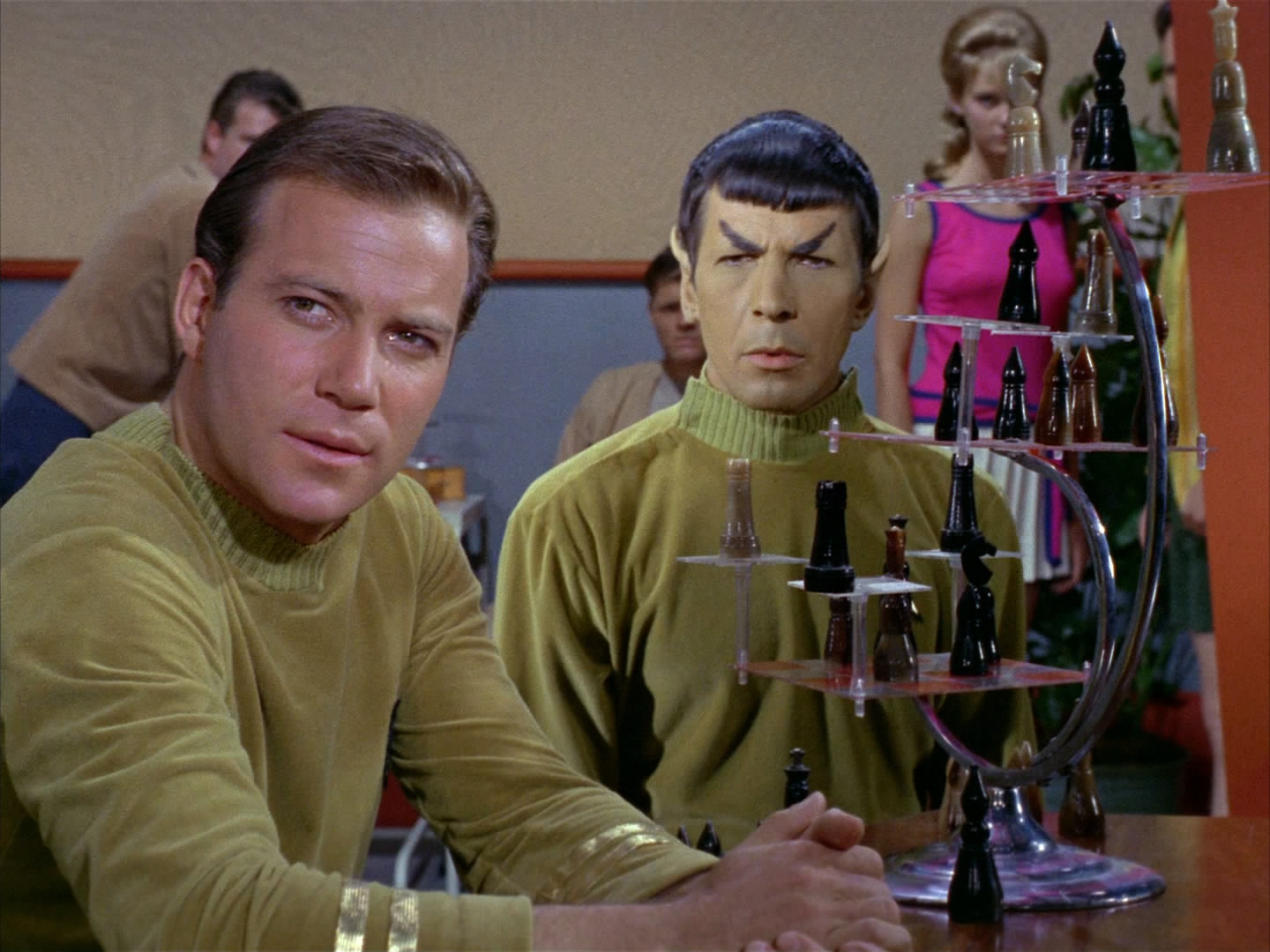 Time become Star trek episode no adults