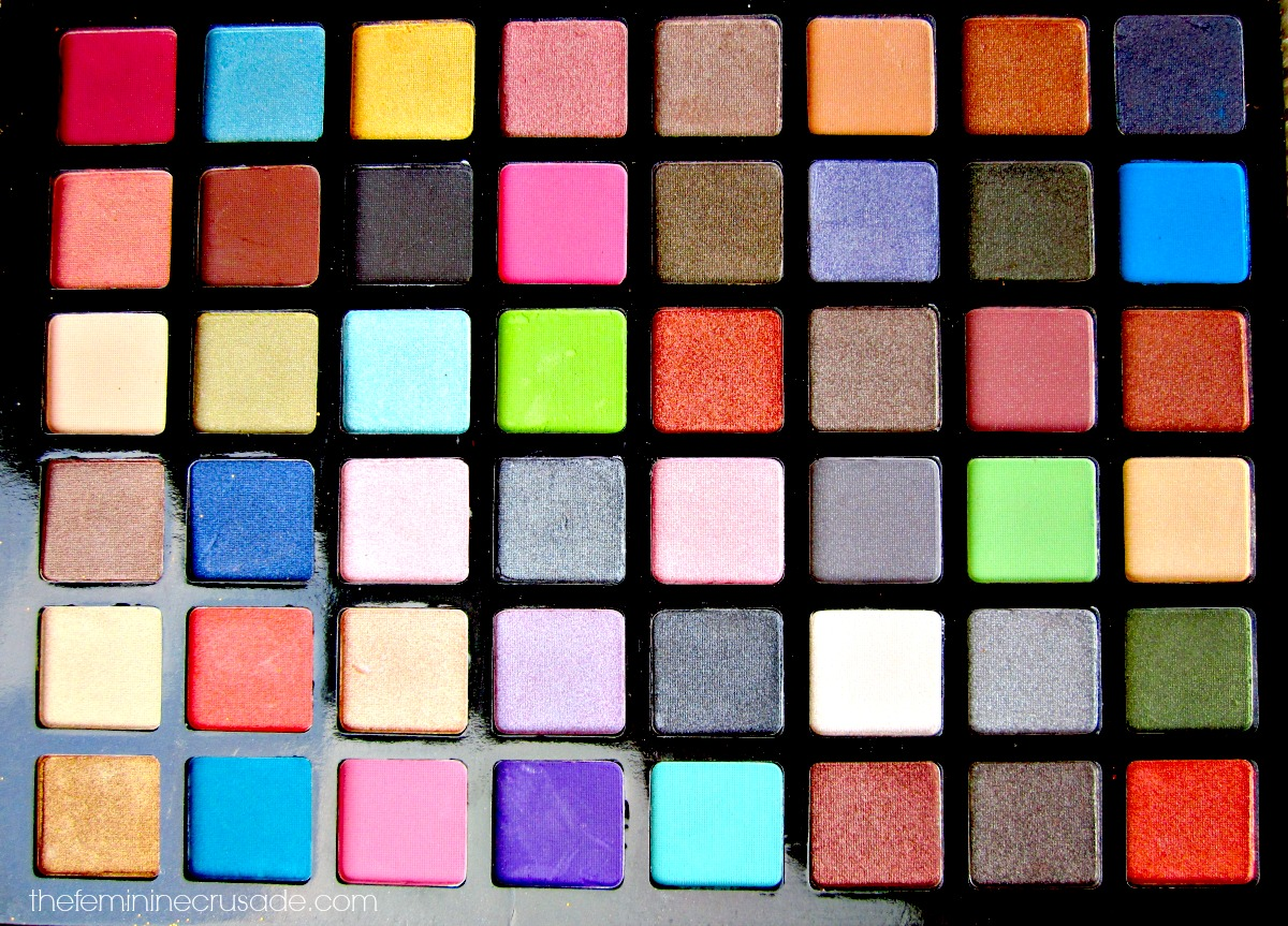 Luscious Ather Shahzad Master Makeup Palette