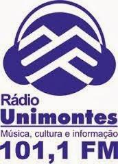 ouvir a Rádio Unimontes FM 101,1 Montes Claros MG