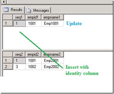 Merge Statement And Identity Insert SQL Server The