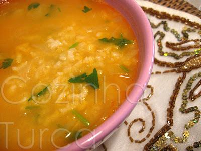 Sopa Ezogelin (Ezogelin Çorbası)