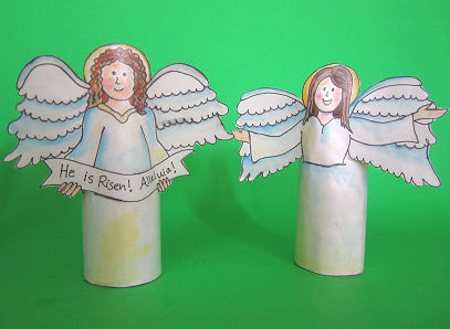 Religious Easter Craft for Kids — Make a Resurrection Set! {It's