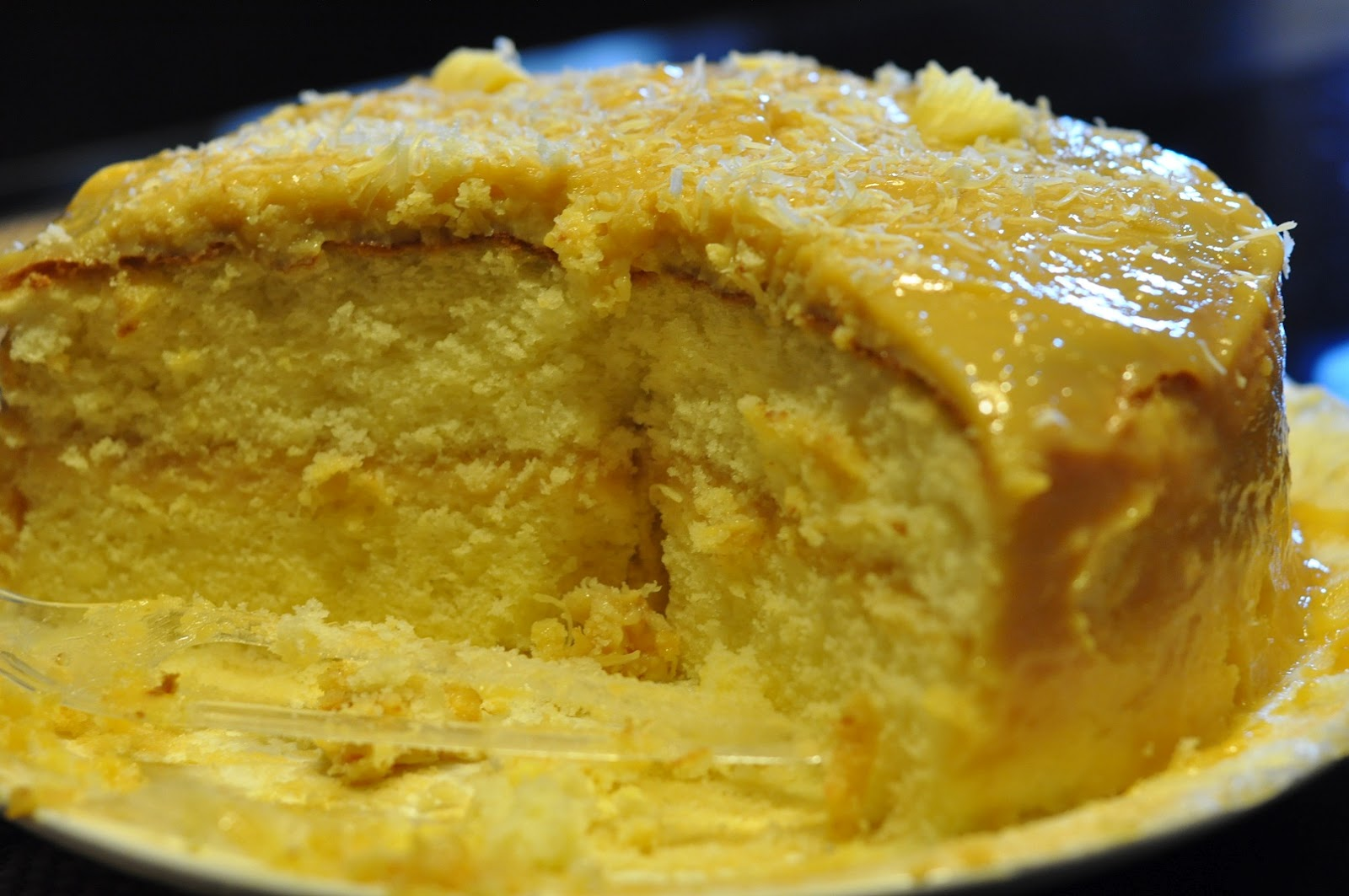 Filipino Style Recipe Yema Cake
