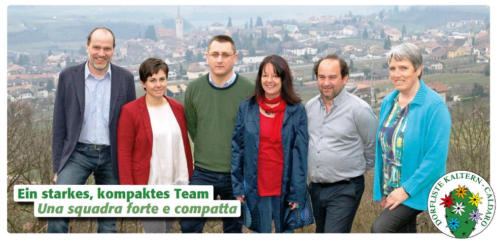 Ein staktes, kompaktes Team