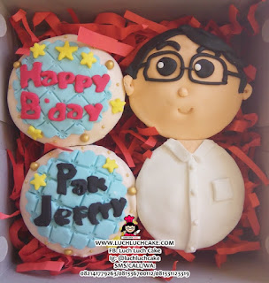 Birthday Cupcake Ulang Tahun 2d Fondant