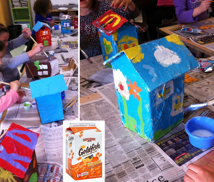 Art projects for kids april 2012 for Paper mache activities