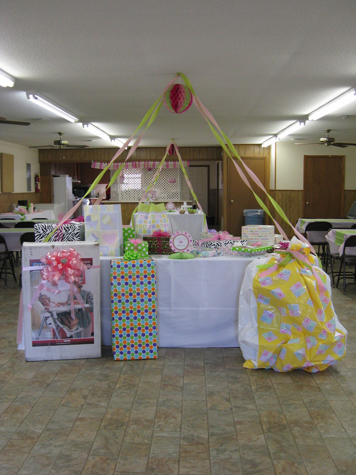 A home in the country baby shower for Baby shower decoration set