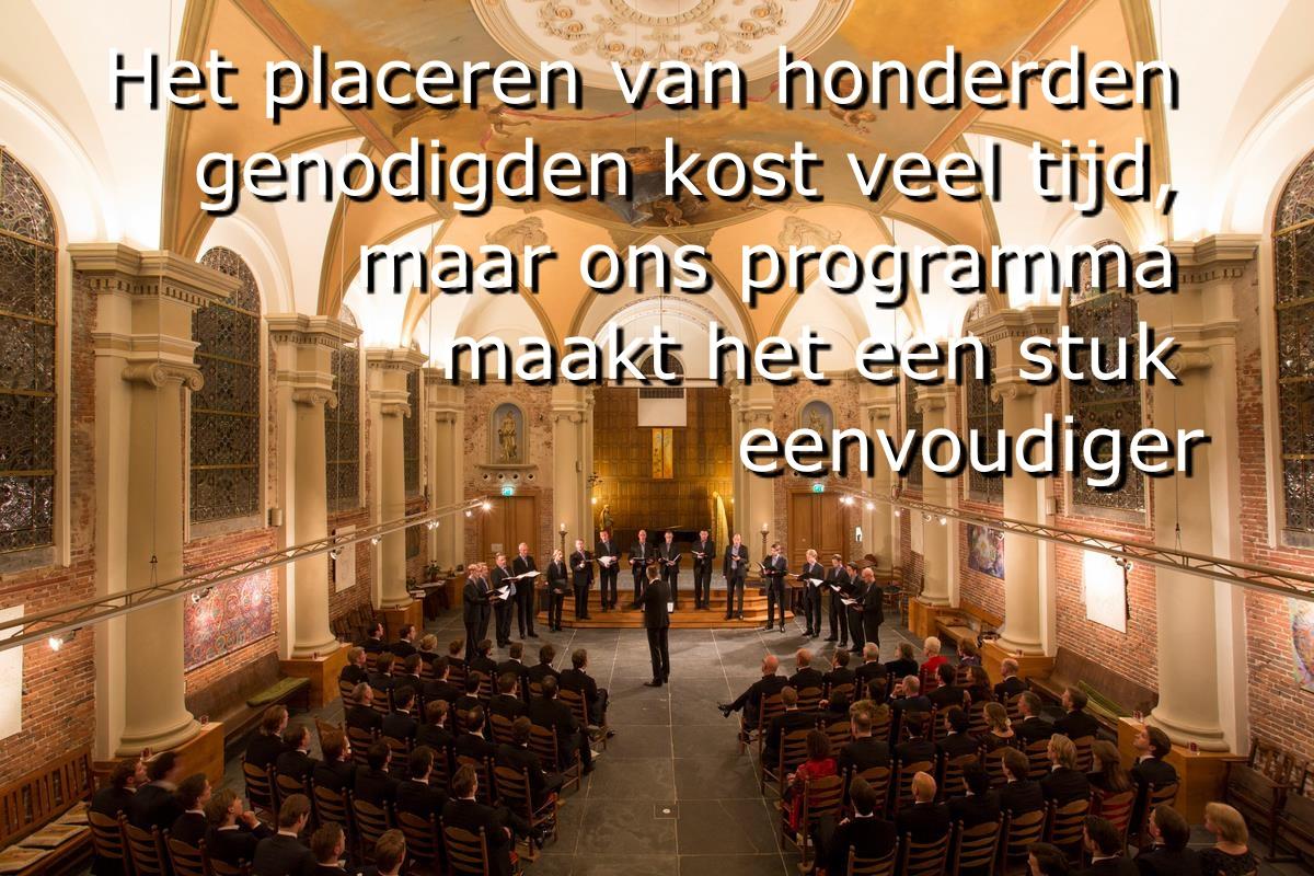 Het placeringsprogramma van het Protocolbureau: