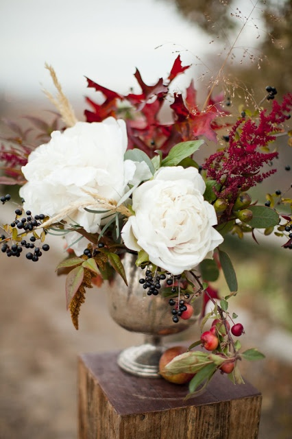 Ever ours events fall floral inspiration