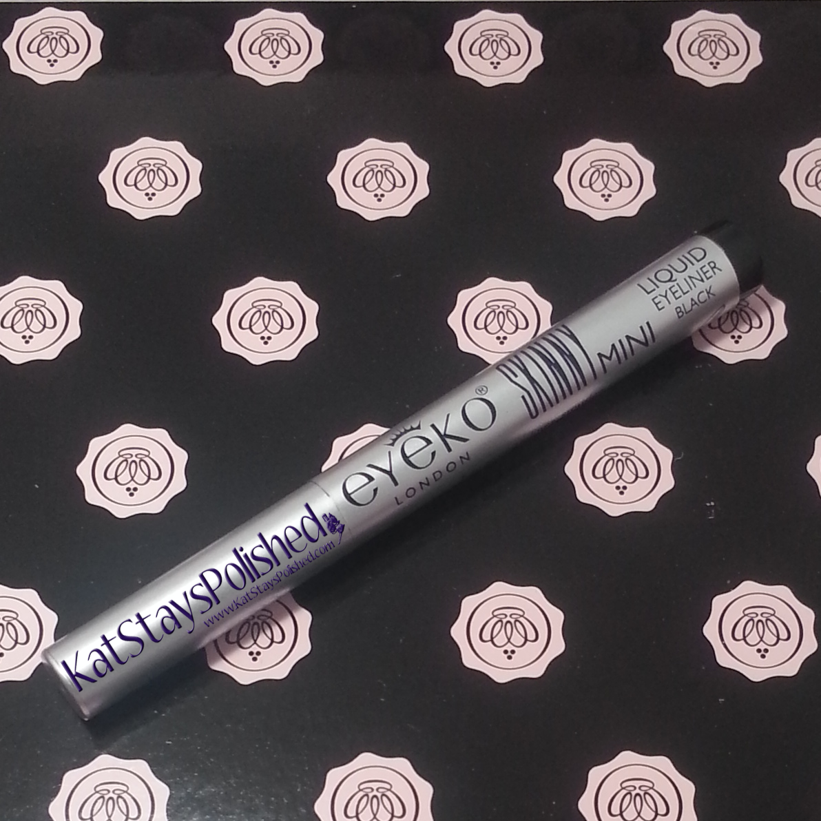 Glossybox - August 2014 - Eyeko Skinny Liquid Eyeliner | Kat Stays Polished