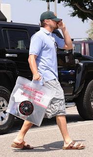 Leonardo DiCaprio - Pés Masculinos - Male Feet