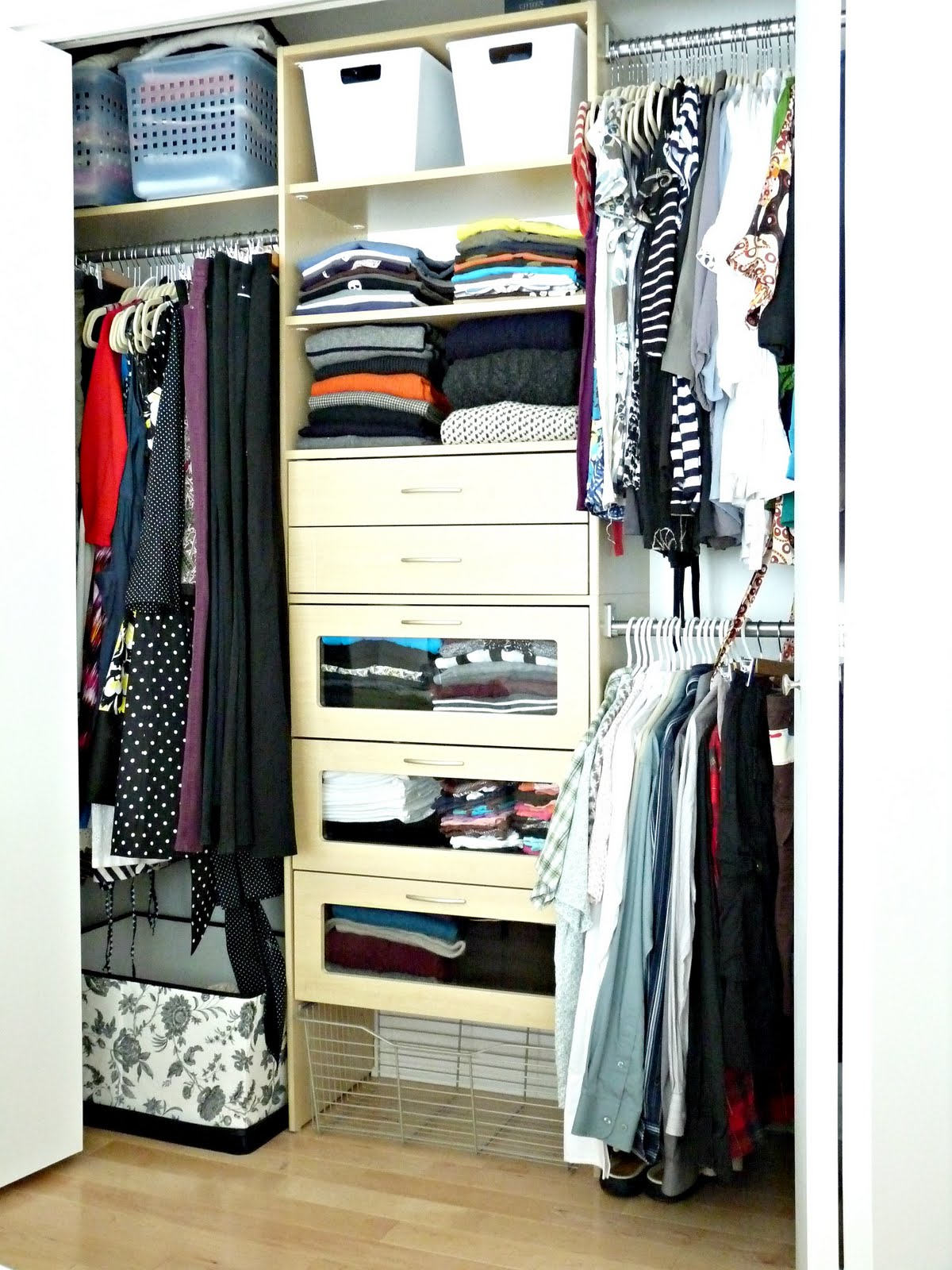Closet overhaul life without a dresser dans le lakehouse How to organize your clothes without a closet