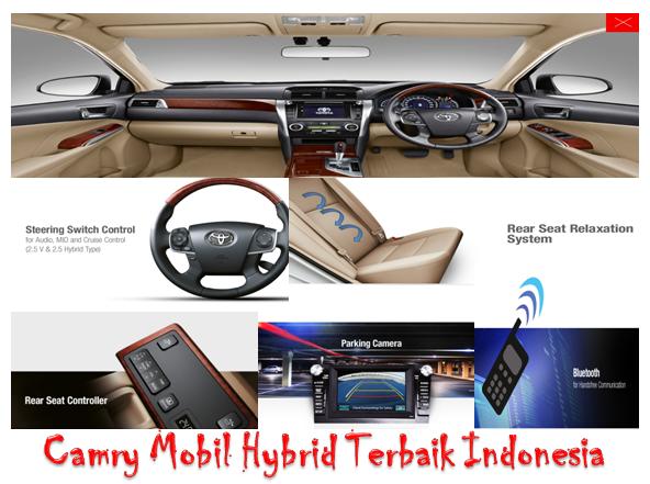 Camry mobil Hybrid-Interior Mewah Berkelas