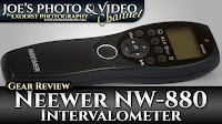 Neewer NW-880 Camera Timer Remote Control (Intervalometer) | Gear Review