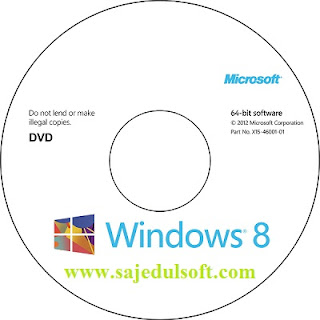 Windows 8 DVD, BOX, Packet, CD, LOGO