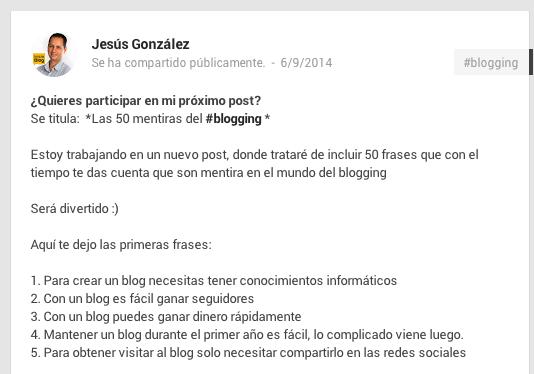 Cómo implicar a tus seguidores en Google+