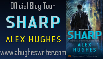Sharp blog tour button