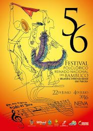 56 FESTIVAL FOLCLORICO Y REINADO NACIONAL DEL BAMBUCO 2016