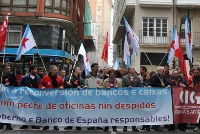 Manifestación dos delegados/as da CIG (Confederación Intersindical Galega) na Coruña (15-11-2011). Foto: (CC) CIG.
