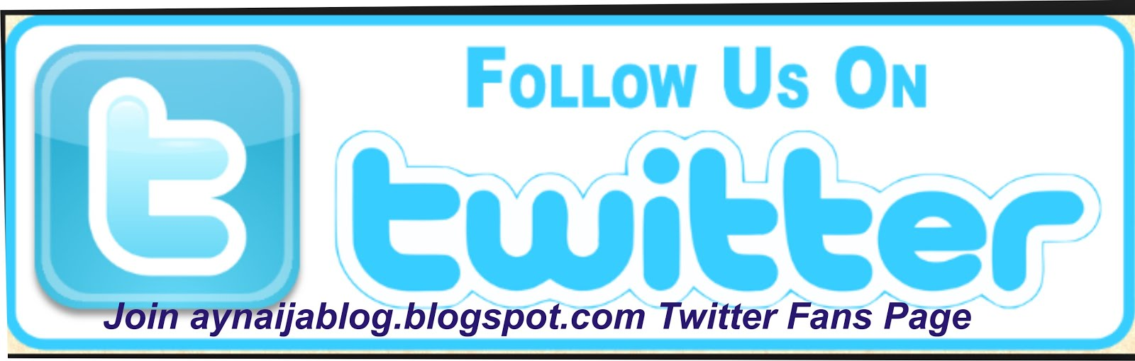 Click To Follow Us On Twitter