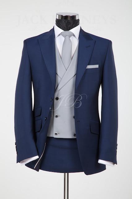 vintage blue wedding suit, blue wedding suit to hire, blue lounge suit hire, vintage wedding