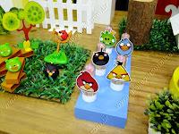 Decoração Angry Birds provençal Porto Alegre